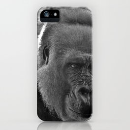 Gorilla Head Shot iPhone Case
