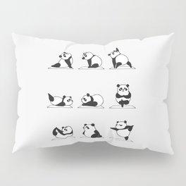 Panda Yoga Pillow Sham