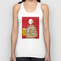 mozart Tank Tops featuring Wolfgang Amadeus Mozart by Marko Köppe