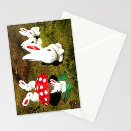 Bunny gnomes Stationery Cards
