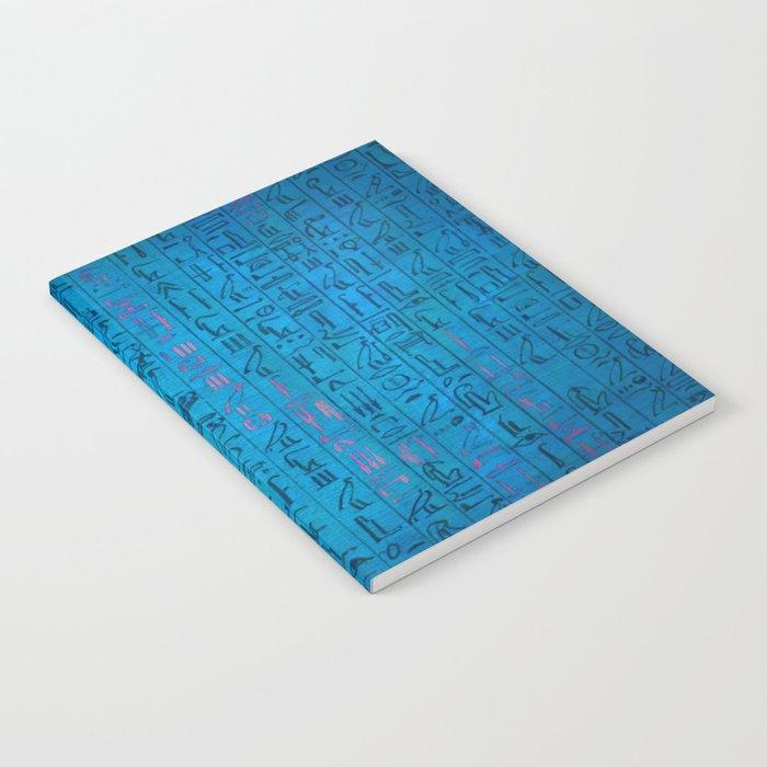 Ancient egyptian blu Notebook