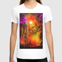 romance T-shirts featuring Lighthouse romance by Walter Zettl