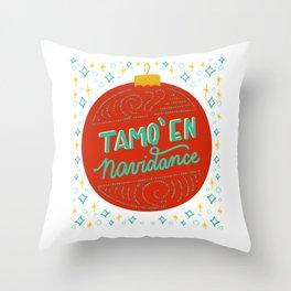 Tamo en Navidance - Dominican Series by gabbadelgado Throw Pillow