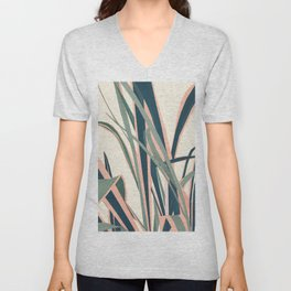 Colorful Plant Unisex V-Neck