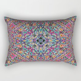 Original Rainbow Trip Rectangular Pillow