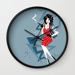 Cartoon Amy Wall Clock