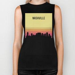 Nashville Skyline Biker Tank