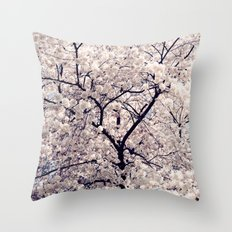 Cherry Blossom * Throw Pillow