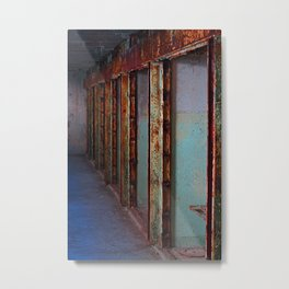 Prison Life Collection Metal Print