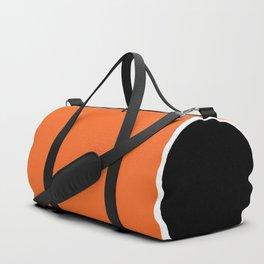 TEAM COLORS 10 ....ORANGE,BLACK Duffle Bag