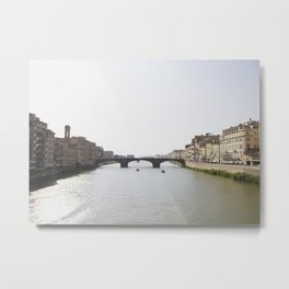Arno River Metal Print