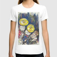 drum T-shirts featuring Drum 1 by Ed Rucker