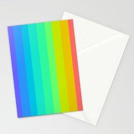 Neon Rainbow Stationery Cards