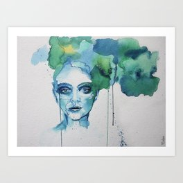 Blue Day Art Print