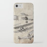airplanes iPhone & iPod Cases featuring airplanes by Кaterina Кalinich