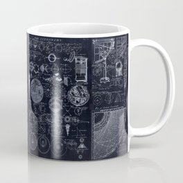 Astronomy Blueprint Diagrams Coffee Mug