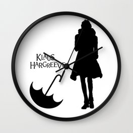 Klaus Hargreeves Umbrella Academy Wall Clock