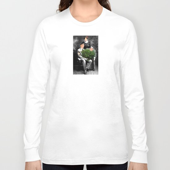 Family Portrait - Valentines day Long Sleeve T-shirt