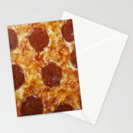 Pepperoni Pizza Stationery Cards