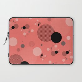 Coral Dots Laptop Sleeve