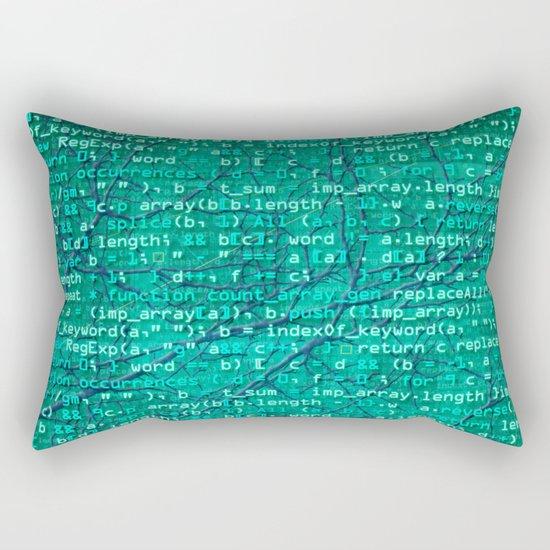 code_forest Rectangular Pillow