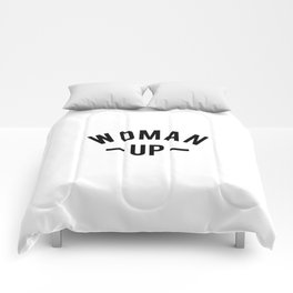 Woman up Comforters