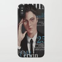 levi iPhone & iPod Cases featuring SnK Magazine: Levi by emametlo