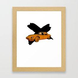 E Type Framed Art Print