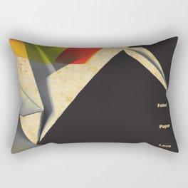 Origami Sex Tape Rectangular Pillow