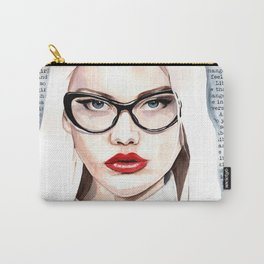 Liberian Librarian Carry-All Pouch