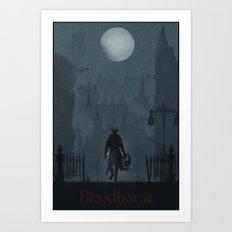 Bloodborne Art Print