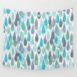 Let it Rain II Wall Tapestry