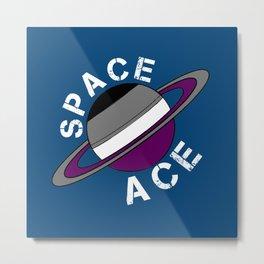 Space Ace Metal Print