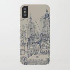New York! iPhone X Slim Case