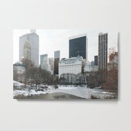 New York City (Winter) Metal Print