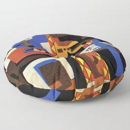 Pablo Picasso Three Musicians Floor Pillow