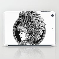 headdress iPad Cases featuring Headdress by BIOWORKZ