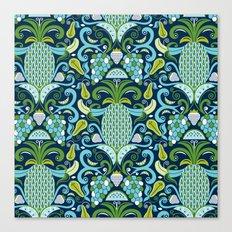 Ambrosia Blue Canvas Print
