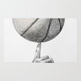 Basketball spin Rug