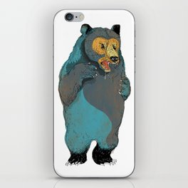 Mr.Grizzly iPhone Skin