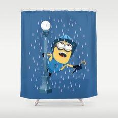 Minion In The Rain