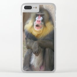Mandrill Clear iPhone Case
