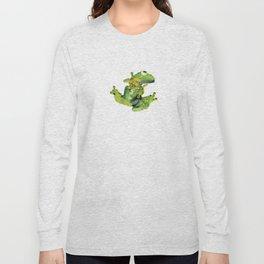 Frog on Glass Long Sleeve T-shirt