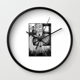Roaches enjoying life. Wall Clock