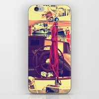 boat iPhone & iPod Skins featuring boat by gzm_guvenc