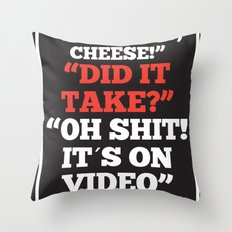 It´s on Video Throw Pillow
