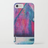 portal iPhone & iPod Cases featuring Portal by Sylwia Borkowska