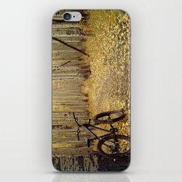 Golden Aspen Mountain Biking iPhone Skin