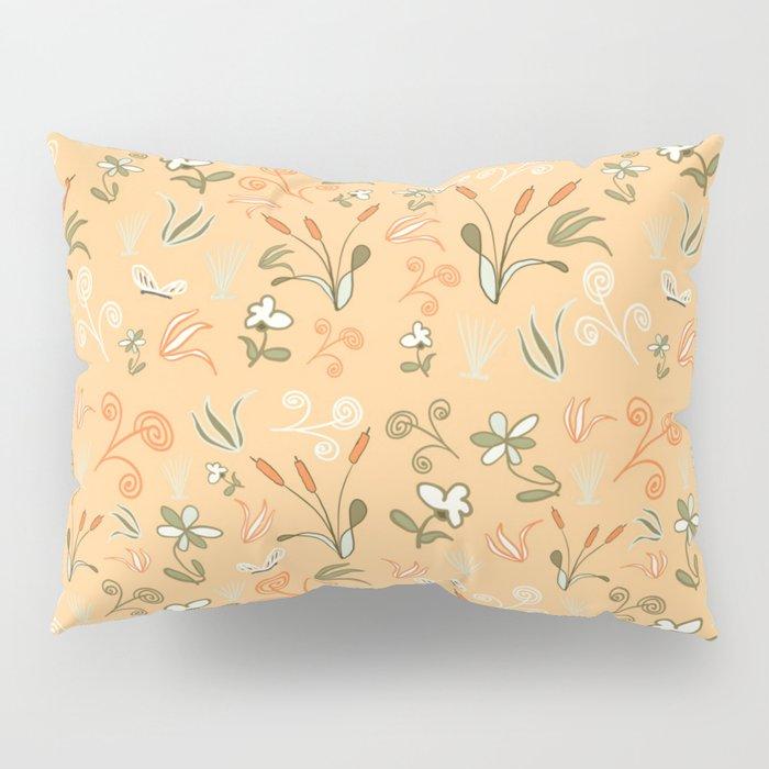 Cattail Chaos Pillow Sham