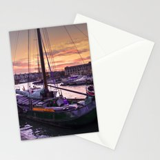 Bristol Harbour Sunset Stationery Cards